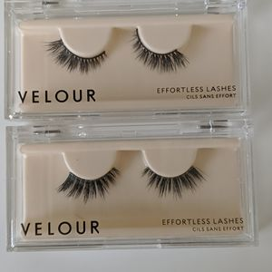 Velour lashes (barely there, no drama)